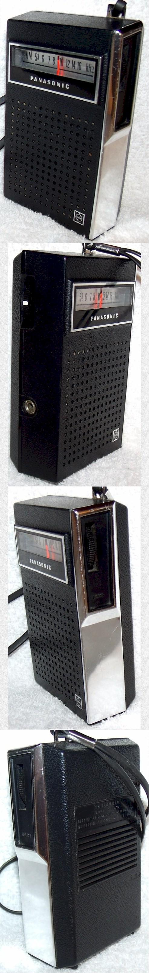 Panasonic R-1070 Pocket Transistor (1965)