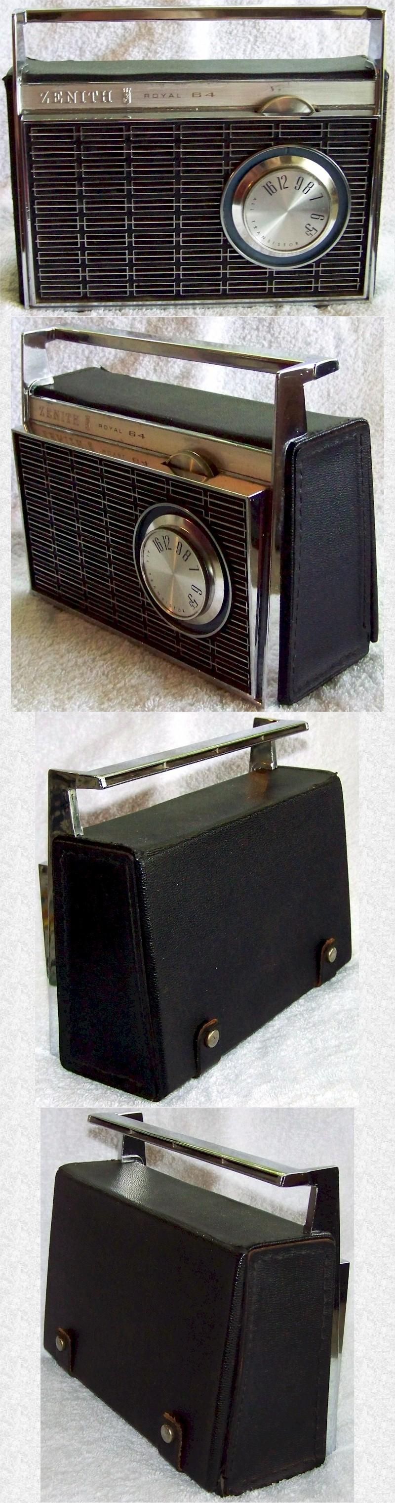Zenith Royal 64 Portable Transistor (mid-60s)