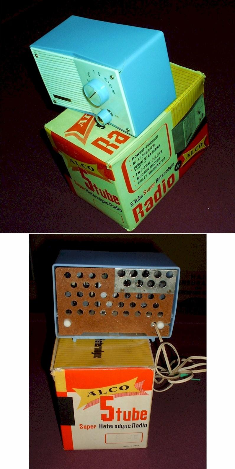 Alco Radio with Box