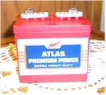 Atlas Premium Power Battery Radio