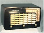 Crosley 10-127-1 AM/FM (1950)