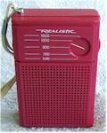 """Realistic 12-203 """"Flavoradio"""" Pocket Transistor (1970s)"""
