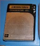 Americana ST-6Z Transistor w/Case (1962)