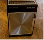 Sony 3F-61W AM/FM Pocket Transistor (1967)
