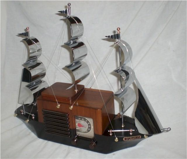 "General Television 920 ""Clipper Ship"" (1948)"