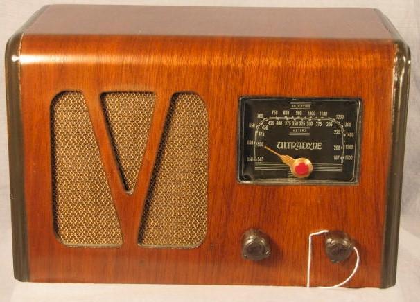 UltraDyne Radio (late 1930s)