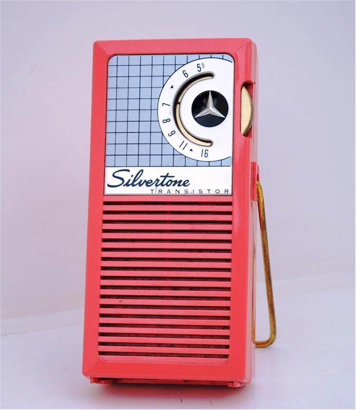 Silvertone Transistor