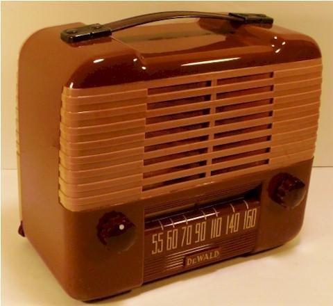 DeWald B-504 Portable (1948)
