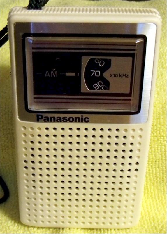 Panasonic R-1027 Pocket Transistor (1970)