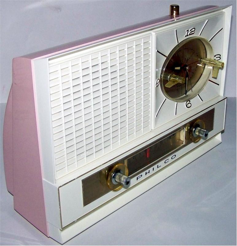Philco K783-124 Clock Radio (1961)