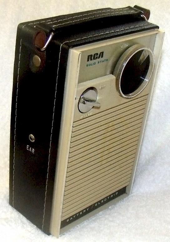 RCA RGA1046E Pocket Transistor (late 1960s)