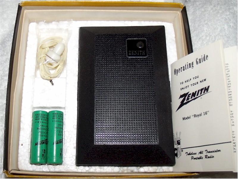 Zenith Royal 16 Set (mid-60s)