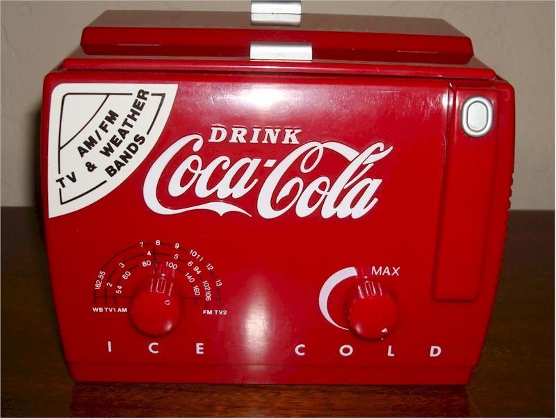 Coca-Cola MC194 Mini Cooler w/Box