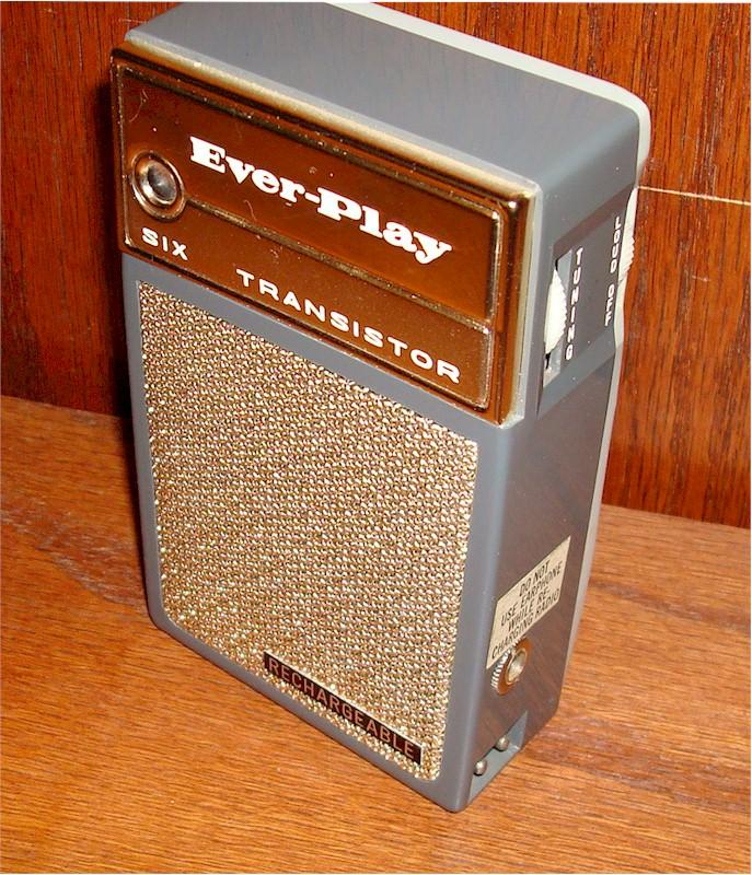 Everplay Rechargeable Transistor (1963)