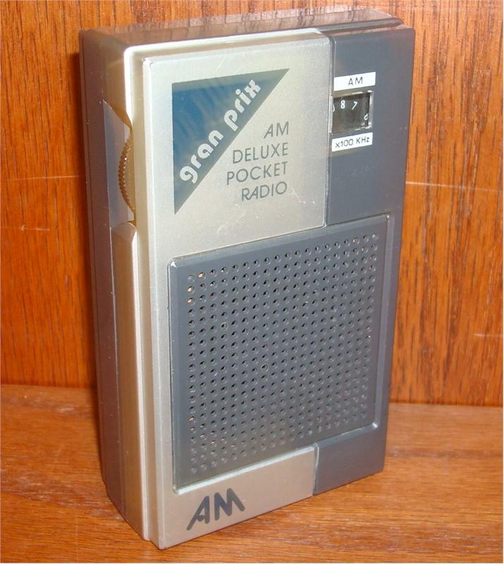 Gran Prix A100 Pocket Transistor