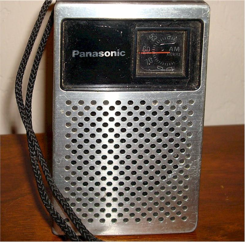 Panasonic R-1014 Pocket Transistor