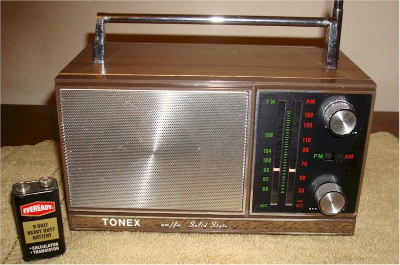 Tonex AM/FM Radio (1960s)