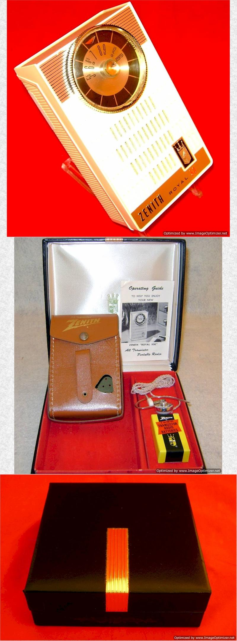 Zenith Royal 50WK Gift Set (1961)