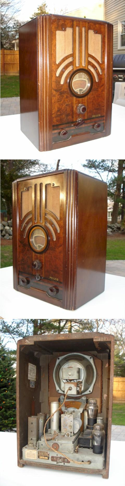 Philco 37-610 Tombstone (1937)