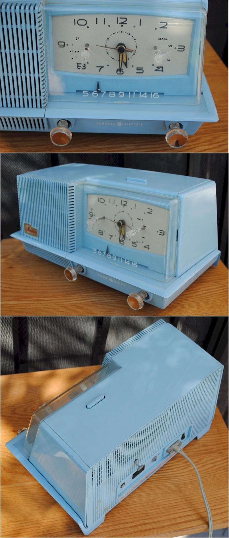 General Electric C-421A Clock Radio
