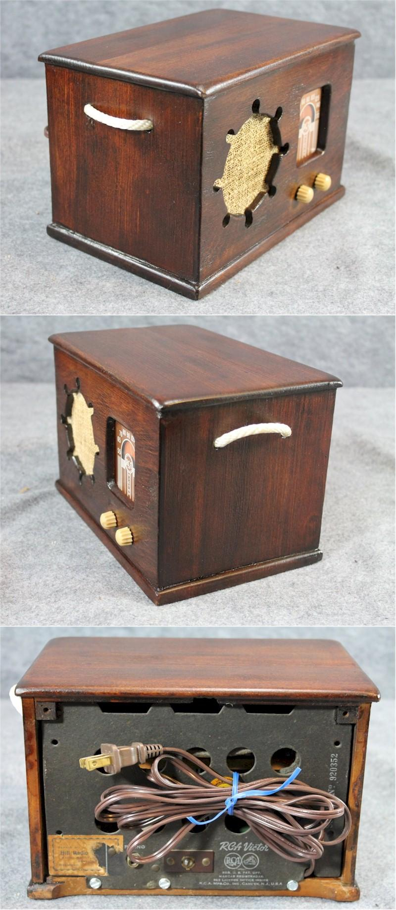 "RCA 40-X1 ""Treasure Chest"" (1939)"