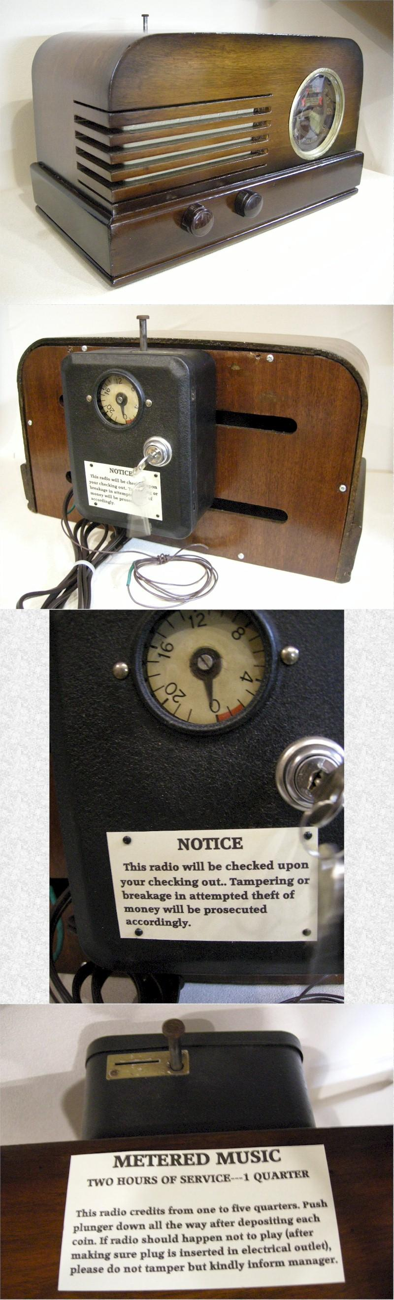Midland M6B Coin Operated Radio (1946)