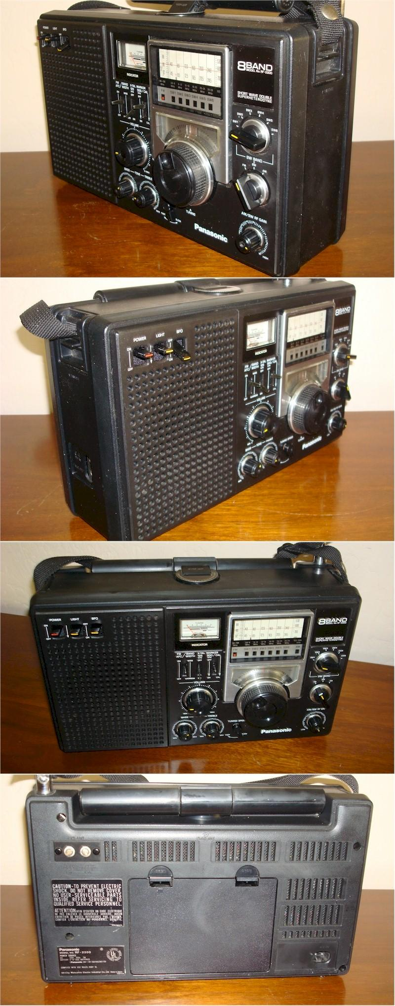 Panasonic RF-2200 Multi-Band Portable