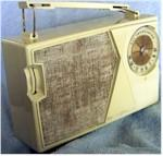 General Electric P-808E Portable Transistor (1962)