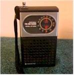 Sanyo RP5050 AM/FM Pocket Transistor