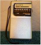 Sony ICF-510MK2 AM/FM Pocket Transistor