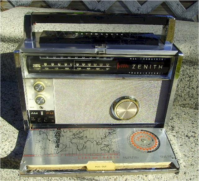 Zenith 3000-1 Trans-Oceanic (1965)