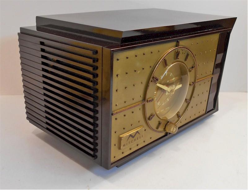 Mitchell 1403 Clock Radio (1952)