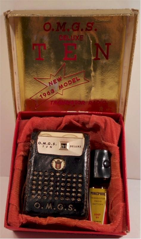 O.M.G.S. PTR-102N Pocket Transistor (1963)