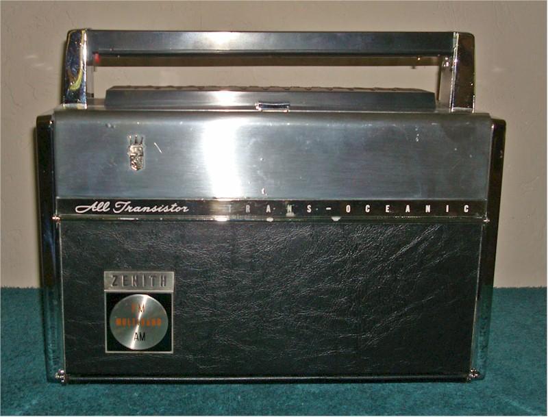 Zenith 3000-1 Trans-Oceanic (1964)