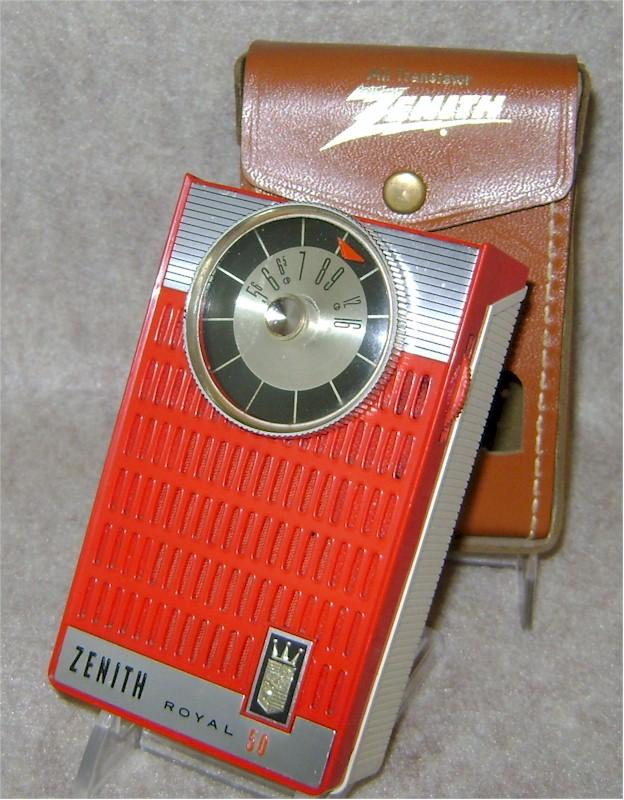 Zenith Royal 50H in Red (1961)