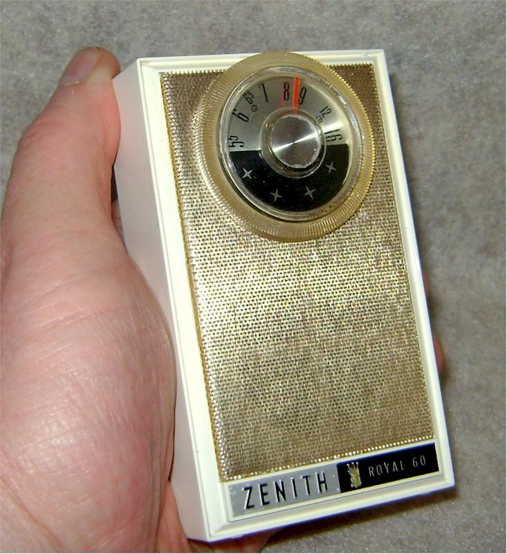 Zenith Royal 60 in White (1963)