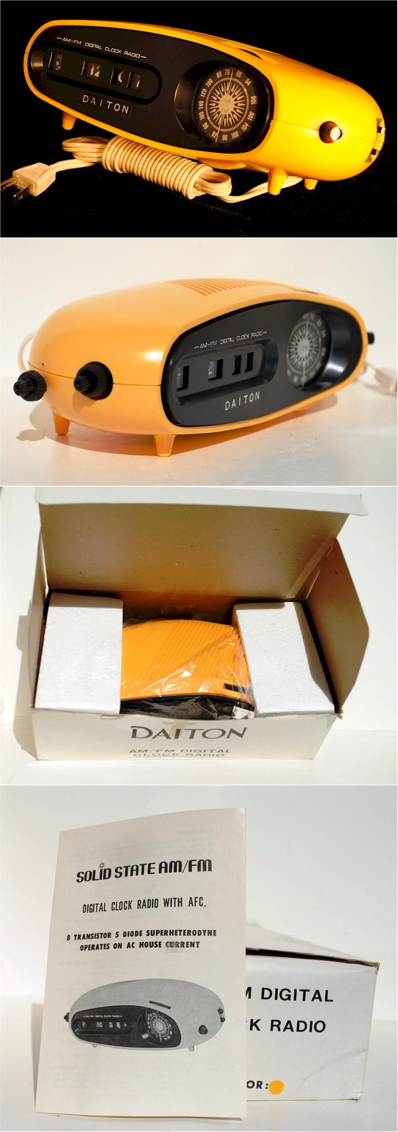 Daiton AM/FM Clock Radio