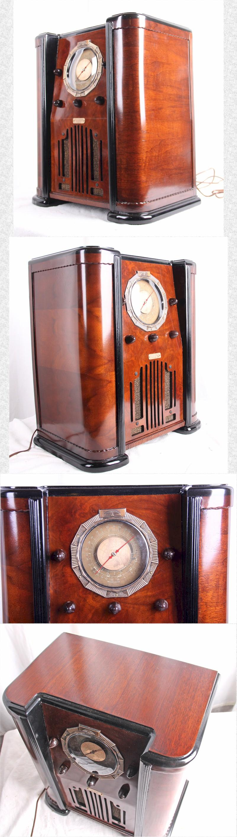 Chicago Radio and Television Mini Console (1937)