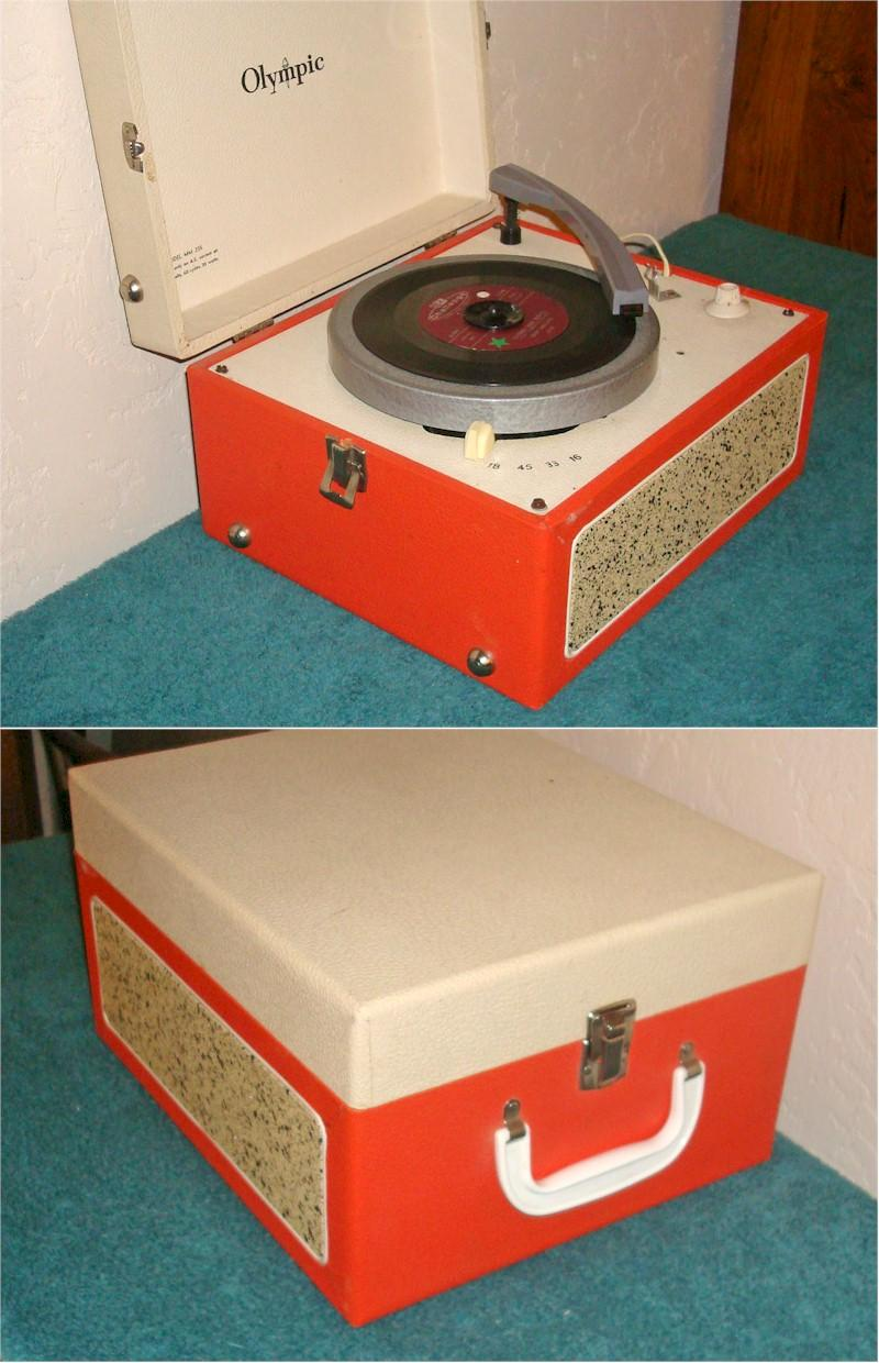 Olympic MM235 Phonograph