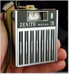 Zenith Royal 20 Micro Pocket Transistor (1968)