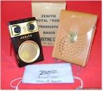 Zenith Royal 500 Boxed Set (1956)