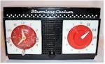 Stromberg-Carlson C-1 Clock Radio (1950s)