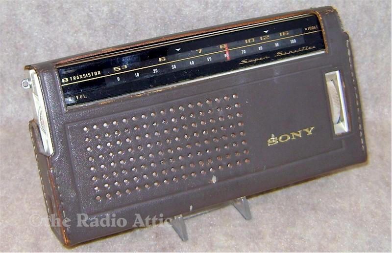 "Sony TR-818 ""Super Sensitive"" (1965)"