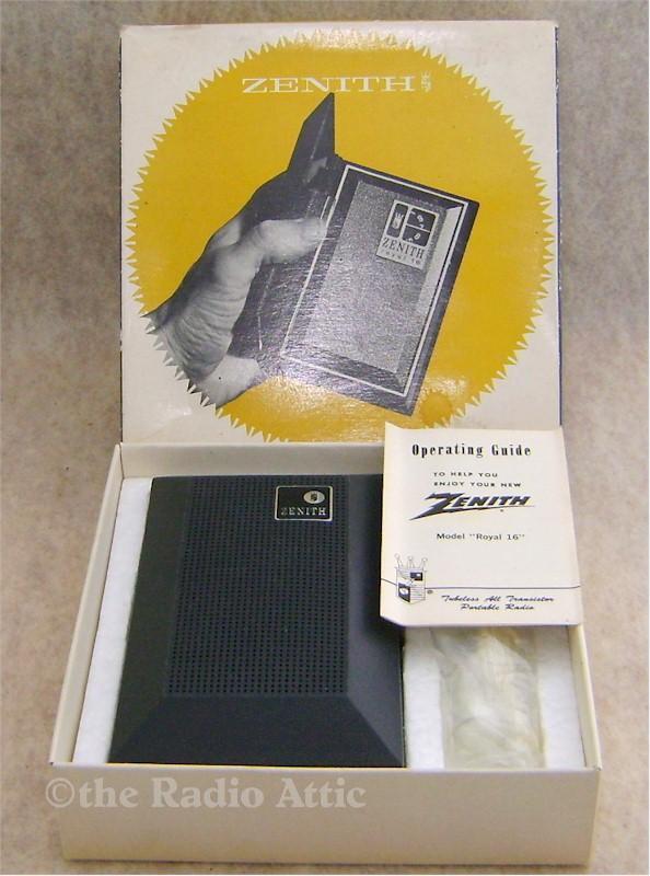 Zenith Royal 16 Pocket Transistor
