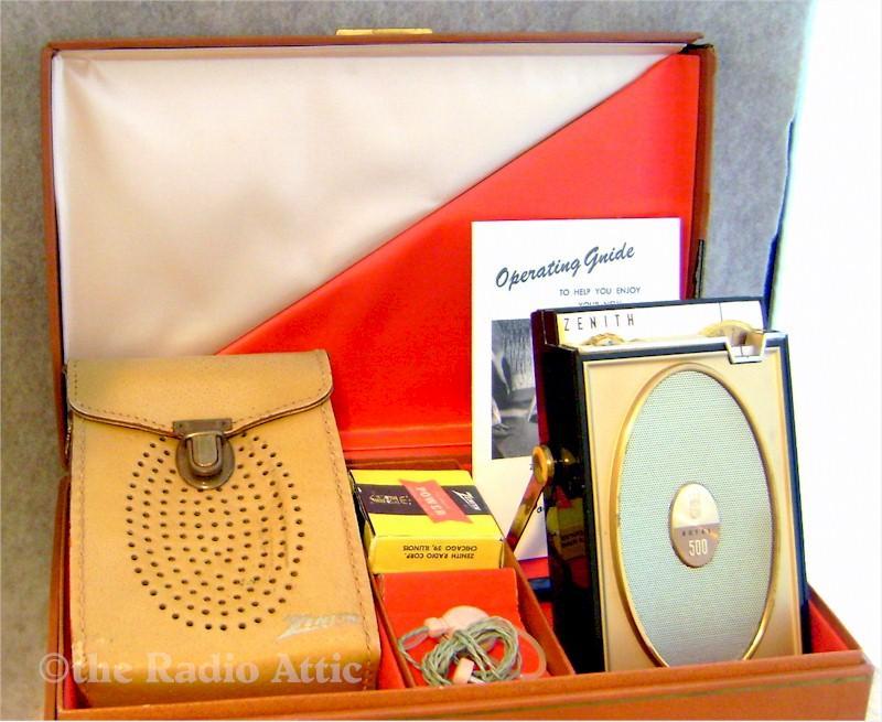 Zenith Royal 500H Gift Set (1962)