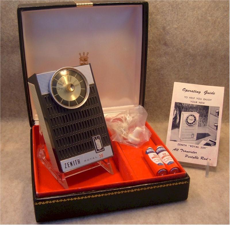 Zenith Royal 50K Gift Set (1962)