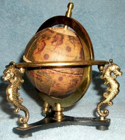 Old World Globe Transistor (1960s)