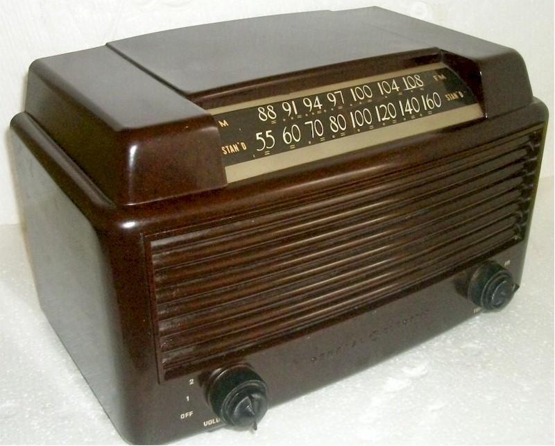 General Electric 356 AM/FM (1959)