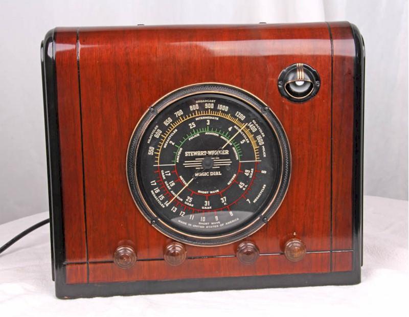 Stewart-Warner 169A Cube (1938)