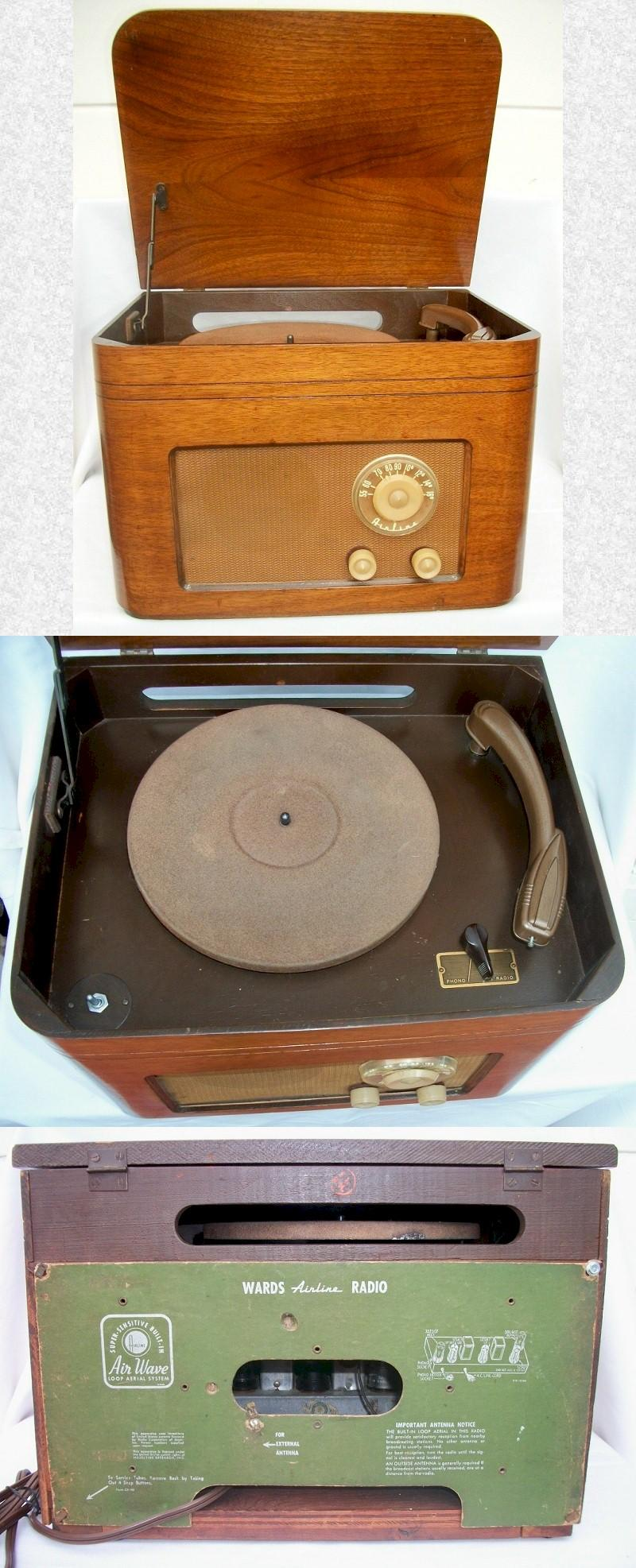 Airline GKM703 Radio Record Player (1950-51)